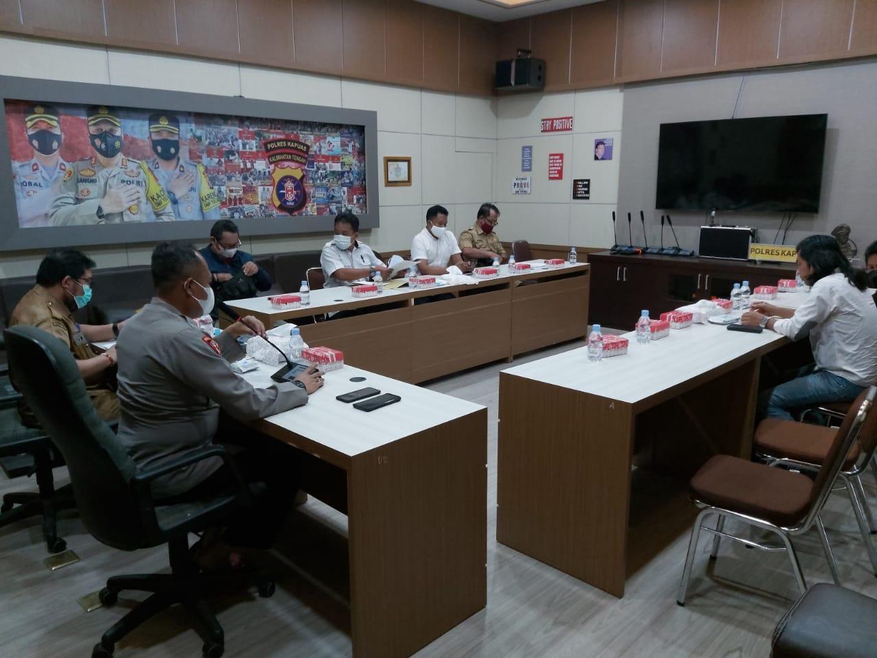 Rapat pembahasan hasil PT.KMJ