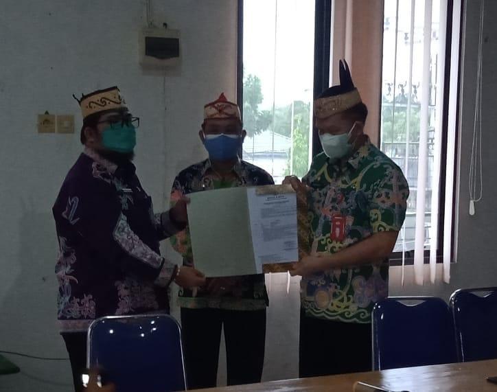 Serah terima jabatan Plt. Kepala DPMPTSP Kabupaten Kapuas